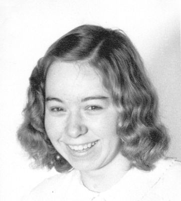 Kristy's mother at age fourteen.