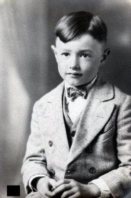 Kristy's father as a young boy.