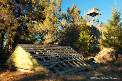 Fire Watch Tower Ochoco National Forest